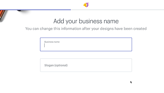 Enter your business name
