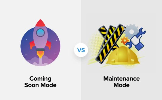 Understanding the difference between coming soon mode and maintenance mode