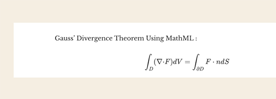 MathML preview
