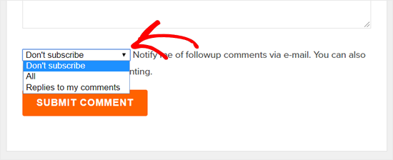 Subscribe to Comments in Thuthuatwordpress.net Blog