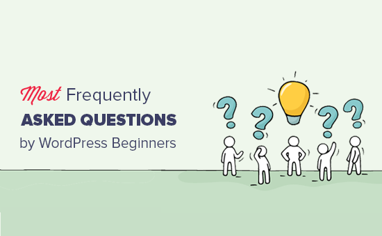 Most frequently asked questions by WordPress users