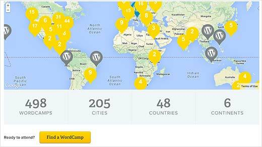 Attend a WordCamp near you